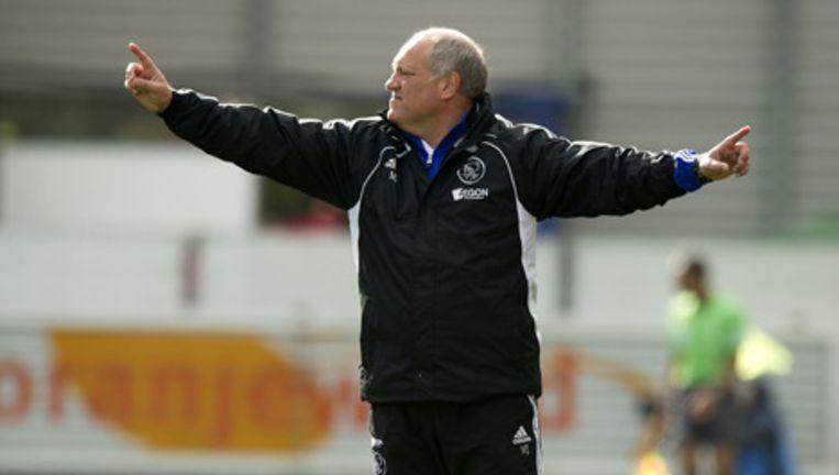 Trainer Martin Jol van Ajax. Foto ANP Beeld