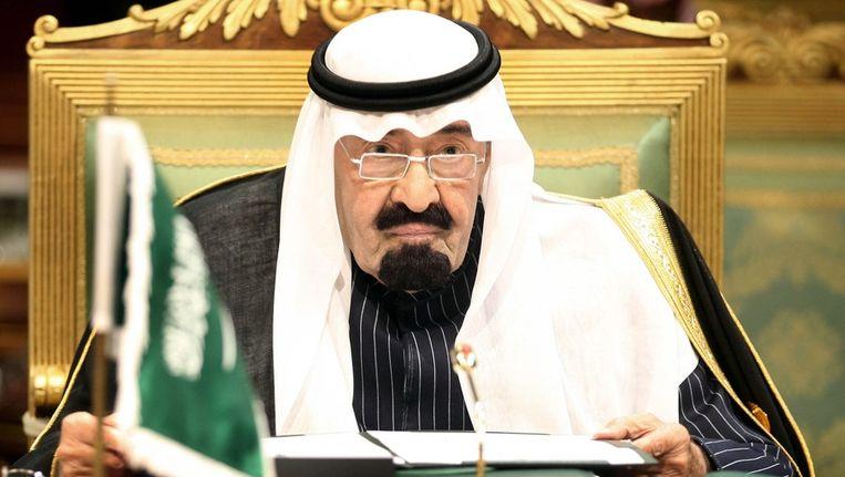 Koning Abdoellah van Saoedi-Arabië Beeld ANP
