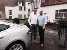 """Steeds meer laadpalen aan restaurants: """"Tesla-rijders hebben onze zaak in hun gps staan"""""""