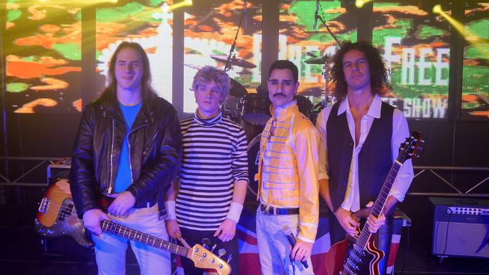De Italiaanse Queen tributeband Break Free.