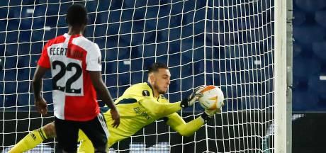 Feyenoord-keeper Bijlow tot winterstop uitgeschakeld