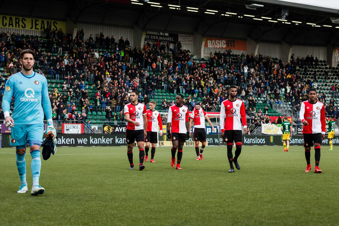 Feyenoord druipt af in Den Haag.