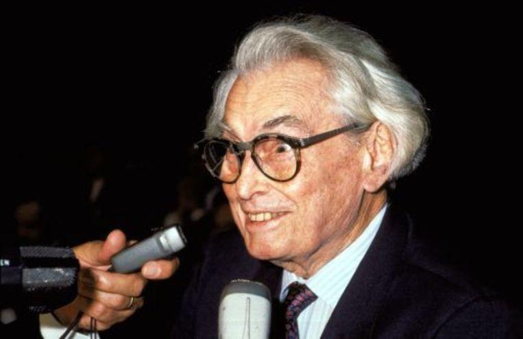 Filmmaker Joris Ivens (archieffoto, oktober 1988). ANP Beeld
