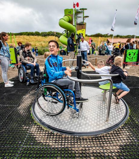 'Inclusieve' speeltuin Vlugtenburg: 'Zowel kinderen met als zonder beperking kunnen hier spelen'
