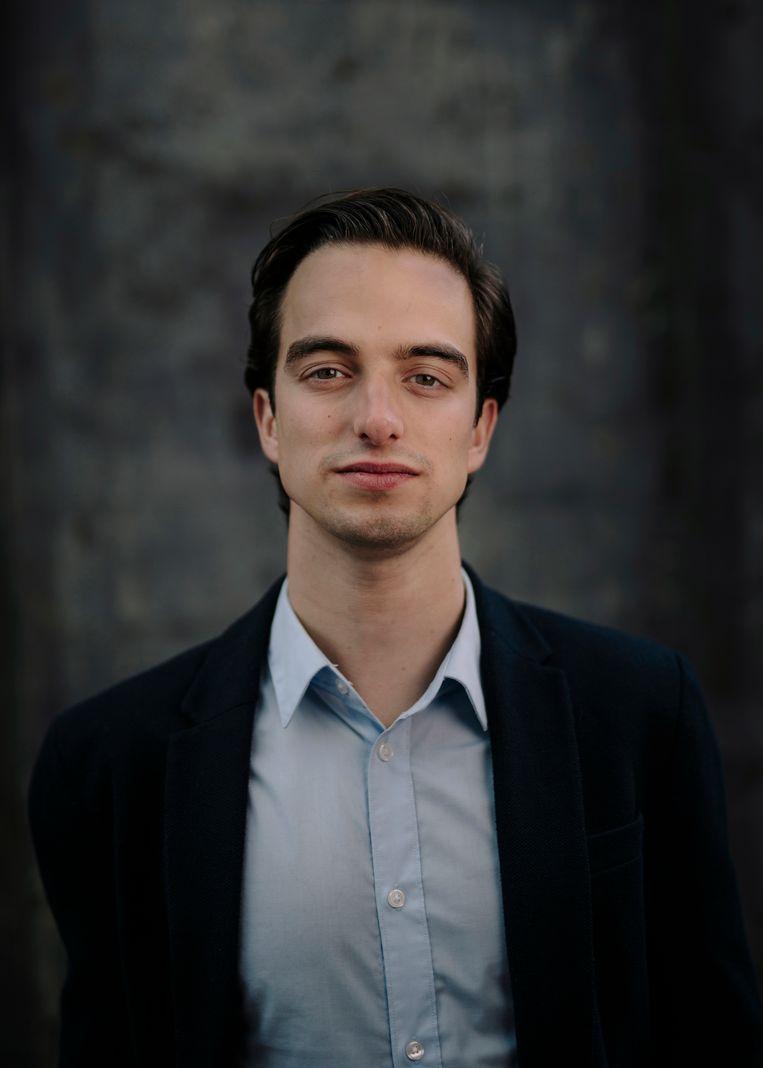 Fabian van Hal (22). Beeld Marc Driessen