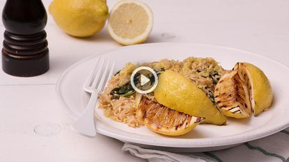 When life gives you lemons: maak frisse citroenrisotto!
