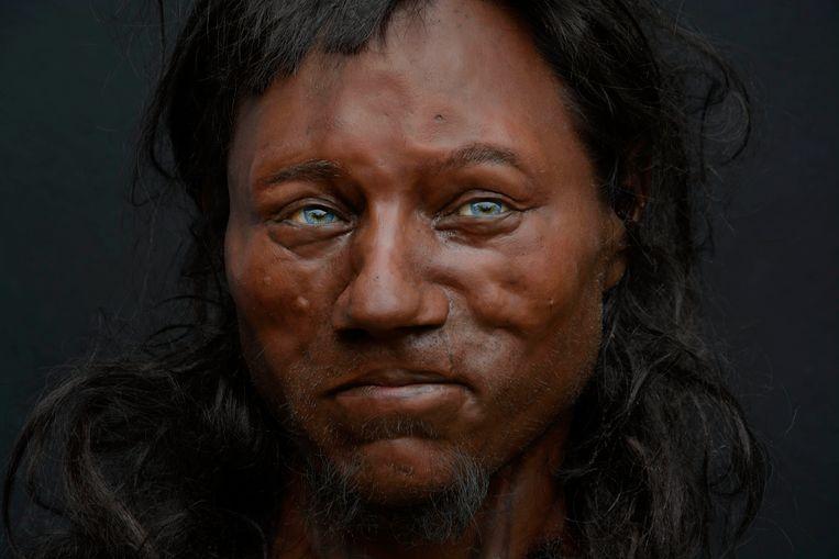 Zwarte man en zwarte vrouw Sex