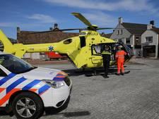 Veel bekijks voor traumahelikopter  in het centrum van Sint Willebrord