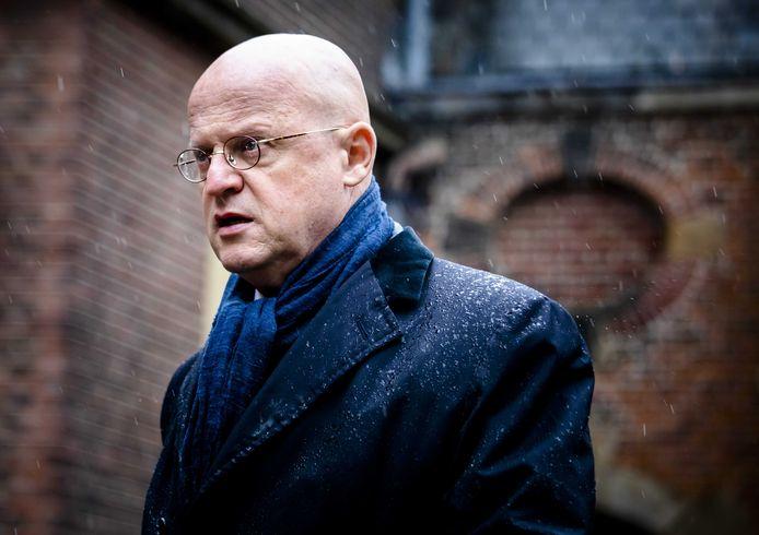 Minister Ferdinand Grapperhaus van Justitie en Veiligheid (CDA).