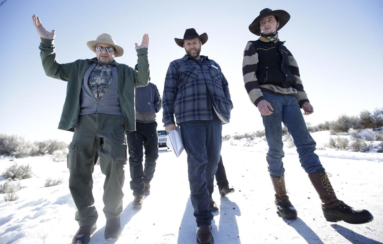 De familie Bundy, patriotten van de tweede Amerikaanse revolutie. Beeld AP