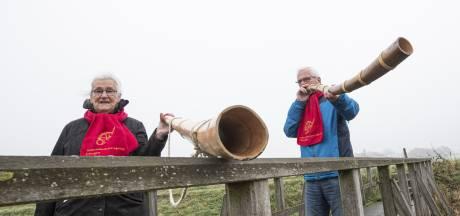 Corona laat de aole roop niet verstommen in Eibergen: 'Je wilt je laten horen en erover vertellen'