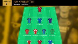 Raf Vanempten is weekwinnaar Gouden 11 met 53 punten