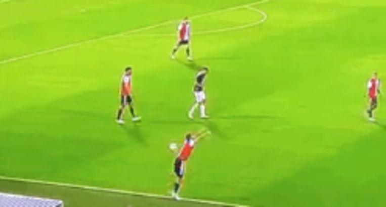 Illustratief voor de Europese malaise bij Feyenoord.