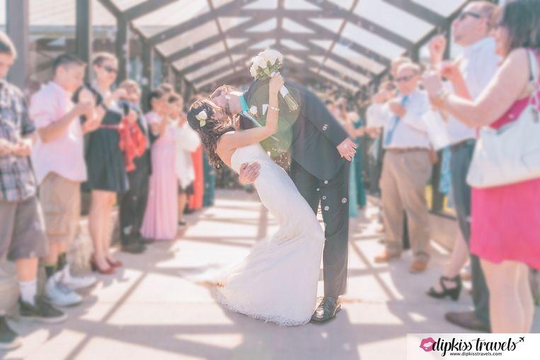 In juni stapten ze in het huwelijksbootje.