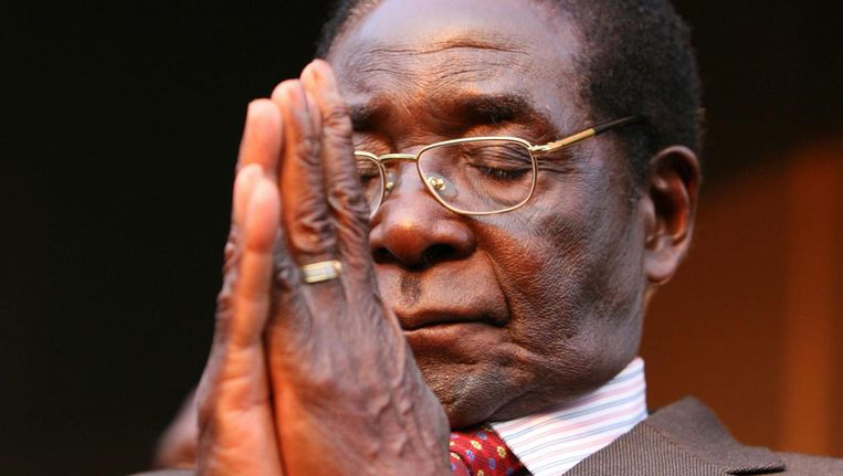 Robert Mugabe in 2007 Beeld ap