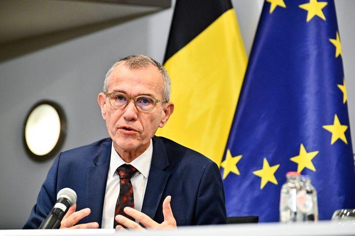 Le ministre fédéral de la Santé publique Frank Vandenbroucke (sp.a).