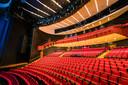 De grote zaal van het Parktheater in Eindhoven blijft voorlopig leeg.