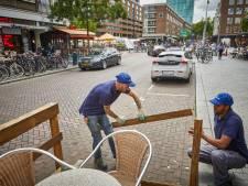 Rotterdam verwijdert vanaf vandaag alle terrasvlonders