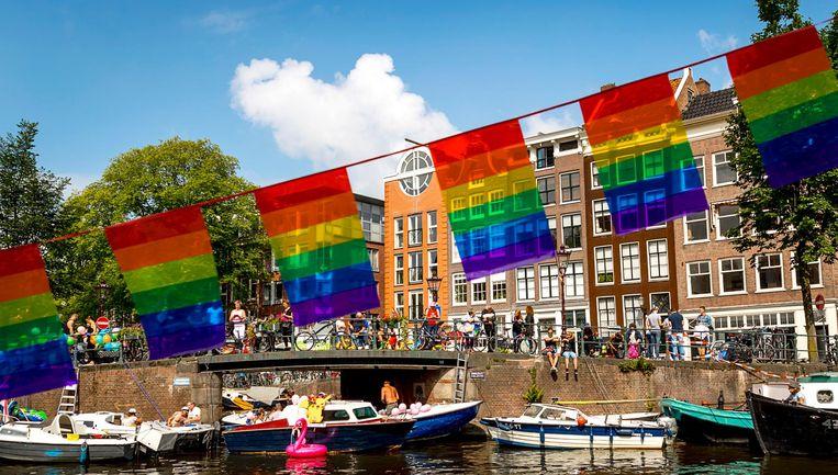 Gemiddeld geven de respondenten Amsterdam een 8,0. Beeld anp