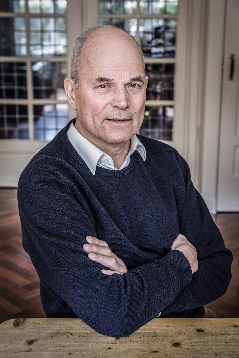 Emeritus hoogleraar Hennes de Ridder Beeld Dingena Mol