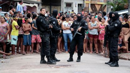 Elf doden bij schietpartij in Braziliaans café