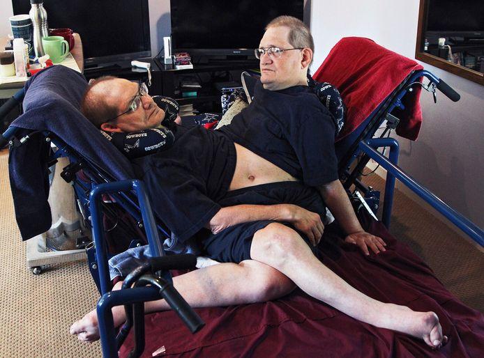 Donnie et Ronnie chez eux, à Beavercreek, Ohio (2 juillet 2014)