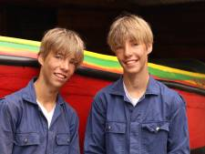 Droom komt uit voor Utrechtse Kameleon-tweeling Sens en Imme (14): 'Hard varen is heel leuk!'