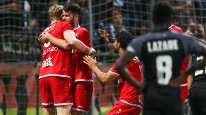 VIDEO. Antwerp zet scheve situatie in vijf minuten tijd recht en wint alsnog van Eupen