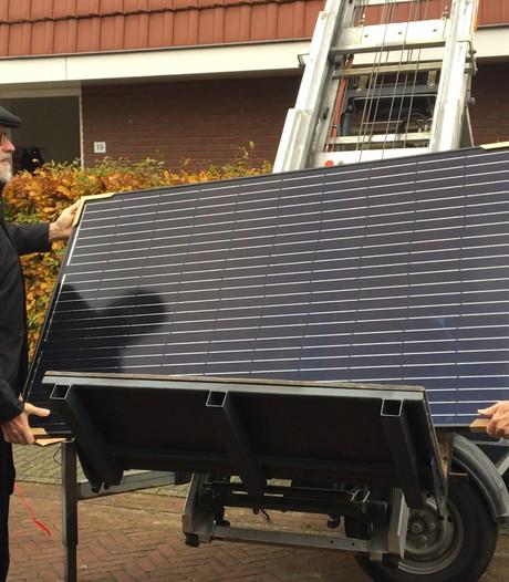 Eerste zonnepanelen zijn geplaatst: 'Harderwijk in de zon' van start