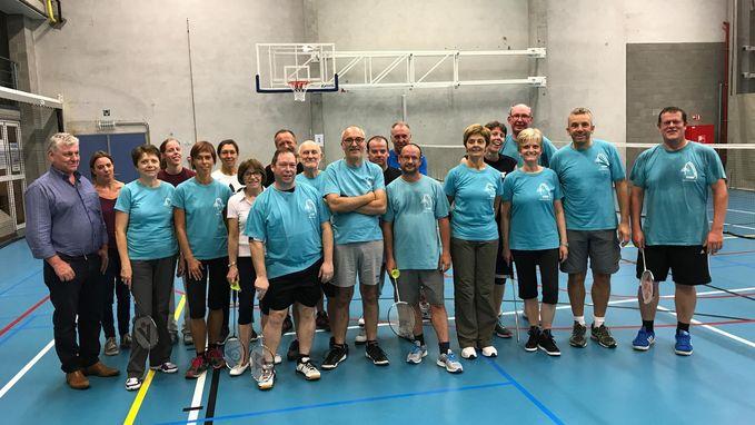 Badmintonclub Zoef is aan nieuwe seizoen begonnen
