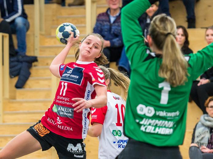 Nele Antonissen kan Dalfsen in de zomer verlaten met een individuele prijs.