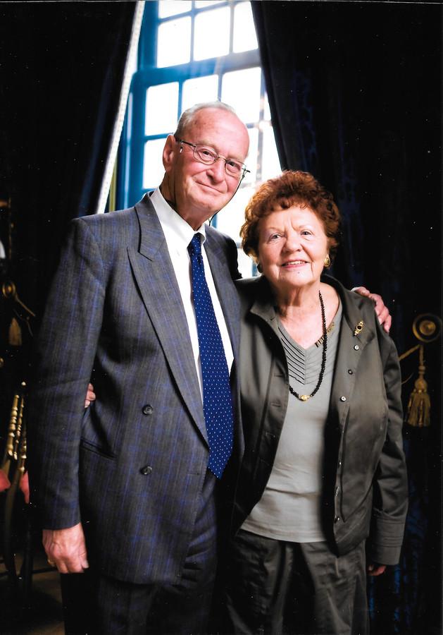 Kees en Hannelore Kamerbeek, ca. 2010.