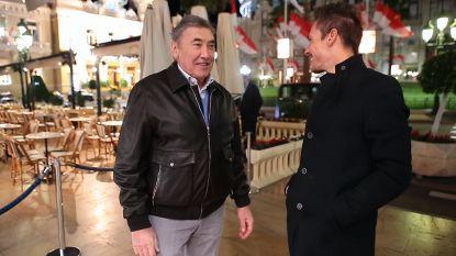 Vrienden, 'Monegasken' en wederzijdse bewonderaars: Philippe Gilbert meets Eddy Merckx aan het casino van Monte Carlo