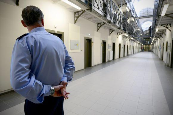 Archiefbeeld van de gevangenis in Sint-Gillis te Brussel.