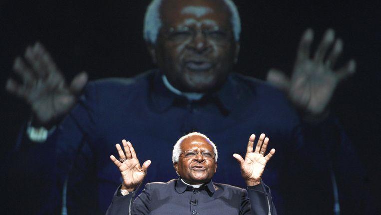 Desmond Tutu. Beeld ap
