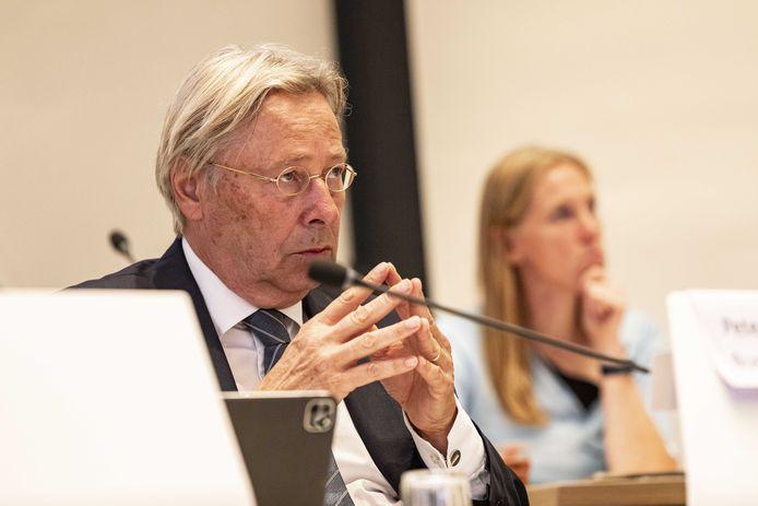 Peter den Oudsten, voorzitter van de Veiligheidsregio Utrecht.