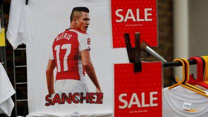 Alexis Sánchez wordt met 550.000 euro per week bestbetaalde in Premier League