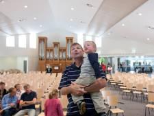 In deze kerk in Ede wordt gebeden voor de verkiezingen: 'Alle zegen komt van boven'