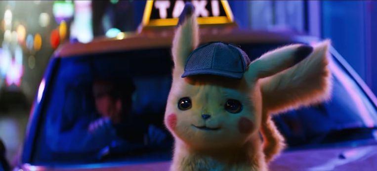 Pikachu in de nieuwe 'Pokémon'-film.