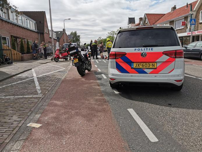 Zowel de fietser als de scooterrijder zijn aangehouden voor rijden onder invloed.