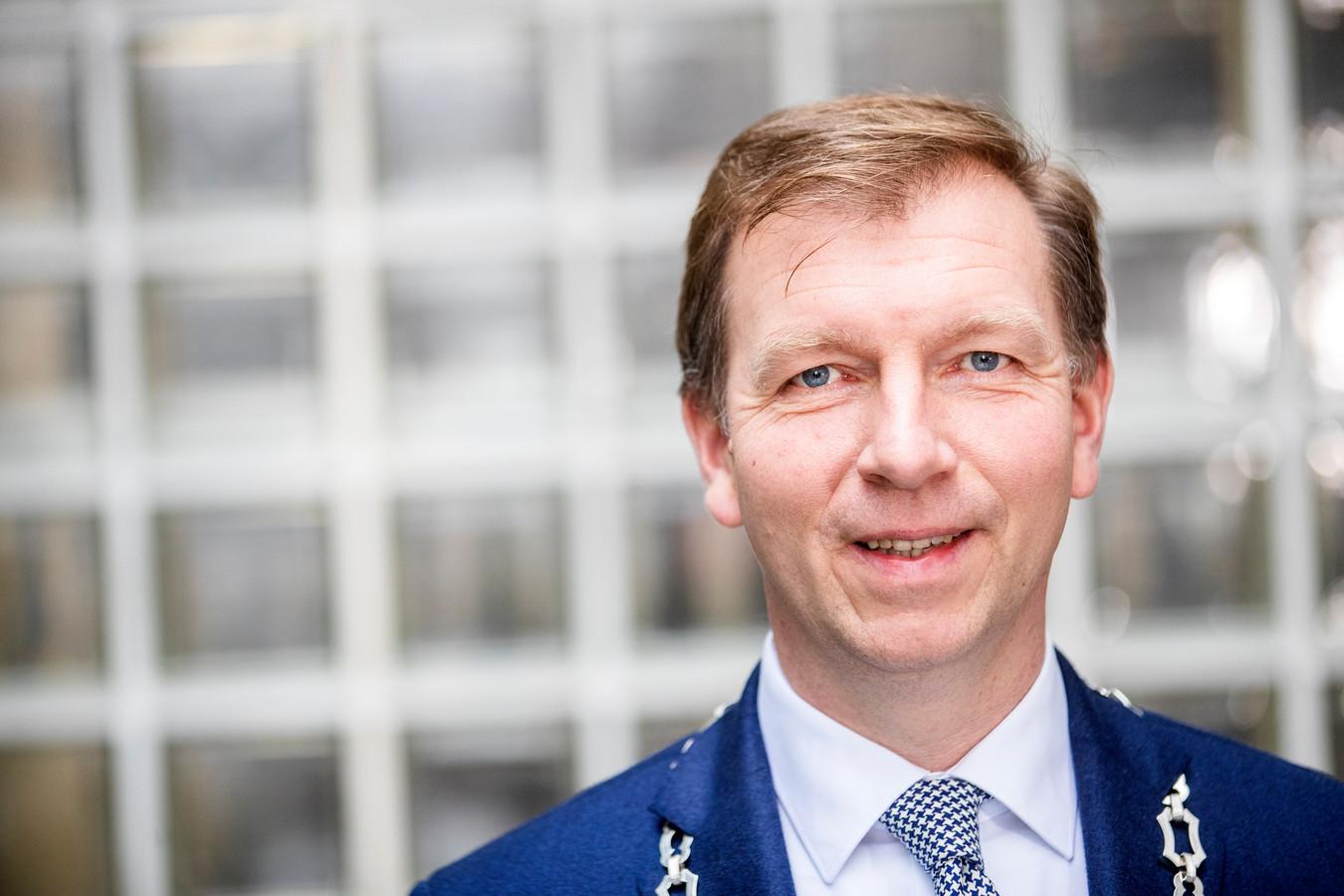 Burgemeester Gert-Jan Kats