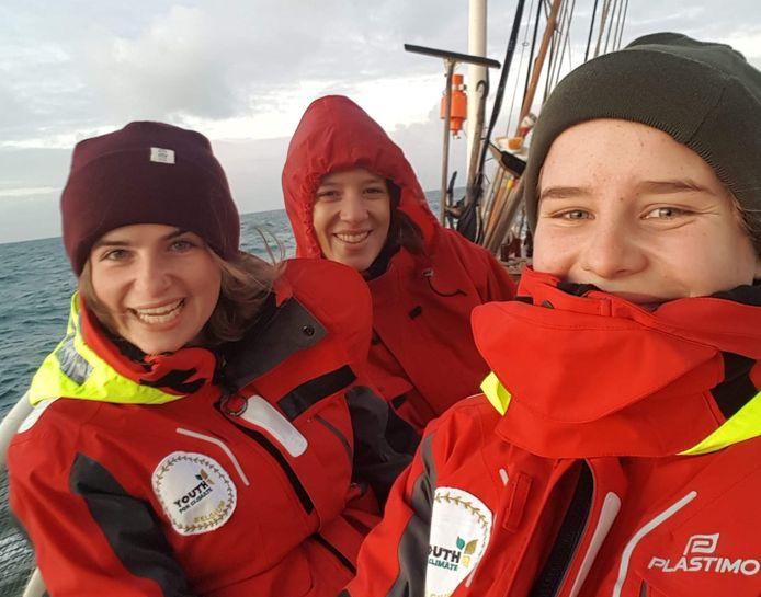 Zeilreis Youth for Climate Belgrium richting Zuid-Amerika.