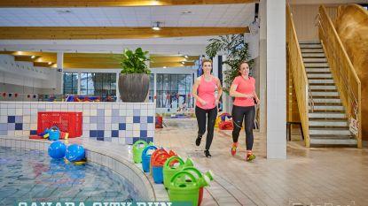 Sahara City Run 4.0 door nieuwe zwembad en Kapittelhof