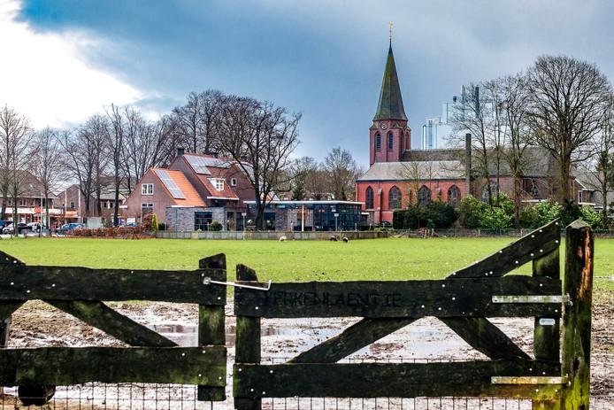 Een uitkijktoren moet de bekroning worden van de viering van 700 jaar Luttenberg. Voorlopig moeten de dorpelingen zich tevreden stellen met die andere twee hoogtepunten: de kerktoren en de silo van Booijink Veevoeders.