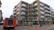 Rook in appartement door ontplofte elektriciteitskast