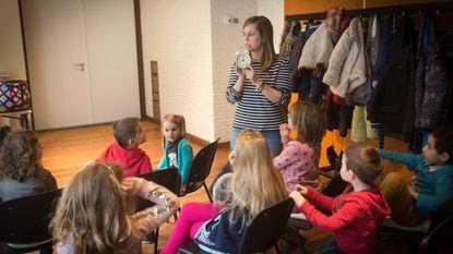 Kleuters en kinderen ontdekken wat energie is