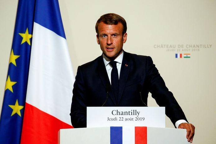 """""""Notre maison brûle"""", a lancé Emmanuel Macron"""
