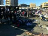Tientallen doden bij zelfmoordaanslag in Bagdad