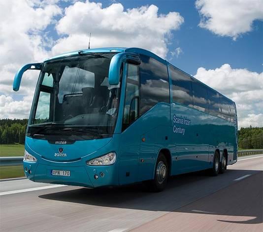 Dave mag zich de trotse eigenaar noemen van een Scania Irizar Century Coach.