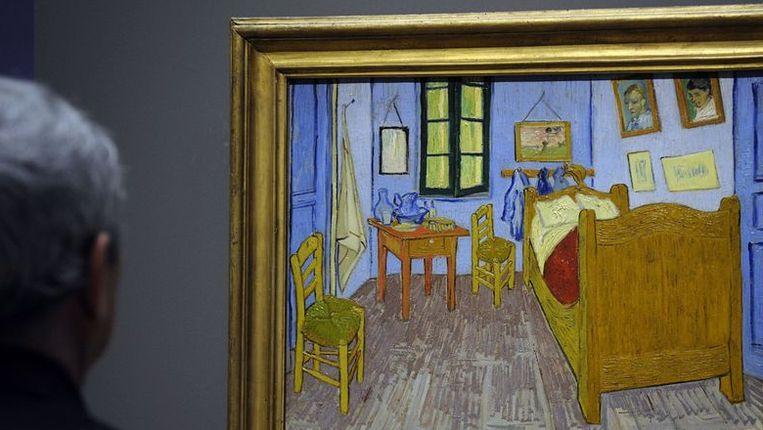 Een bezoeker in het Van Gogh Museum Beeld anp
